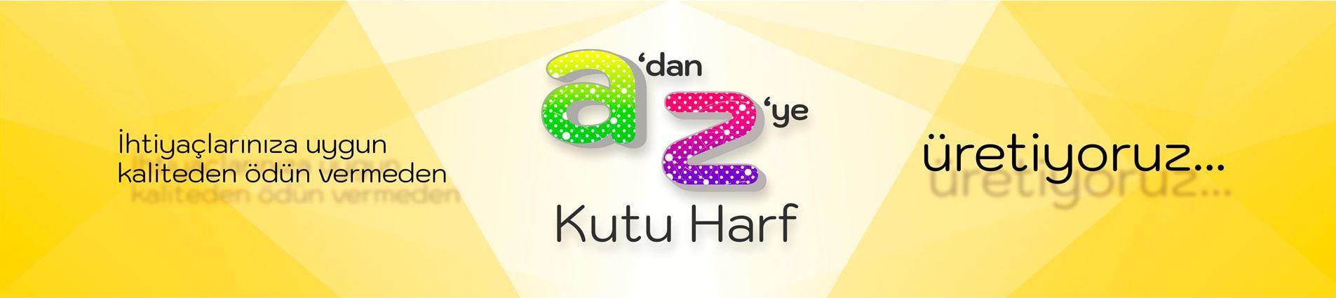 Ampüllü Kutu Harf, Ahşap Kutu Harf