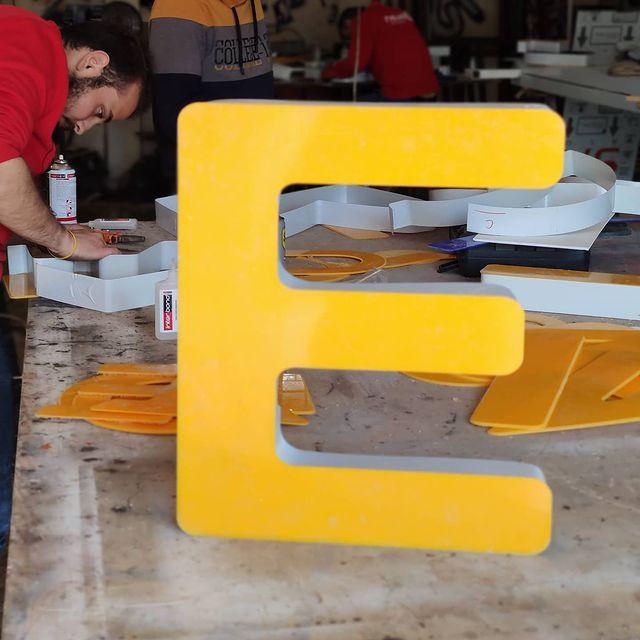 Kutu Harf Çalışmaları 07